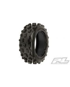 Proline 1150-00 Bow-Tie Off-Road Front Tires w/o Foam for Baja 5B (2pcs) 1/5