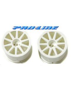 Proline 2688-04 Wabash Wheels White 2pcs 1/18