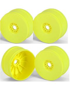 Proline 2702-02 V2 Yellow Front & Rear Wheels for 1:8 Buggy (4pcs)