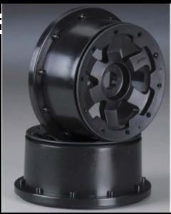 Proline 2706-03 Desperado Bead-Loc Wheel Black(2pcs) 1/5