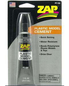 Zap PT-104 1 oz. (29.5 ml) Plastic Model Cement (Gel)