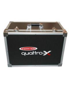 Twister ALUMINIUM CASE FOR QUATTRO-X, DJI PHANTOM V1, Compatible MInivet (MVCASE)