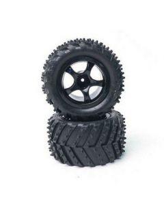 Rage RGRC1823 Tyre/Wheel; Mounted & Glued (pr.)- R18MT  1/18