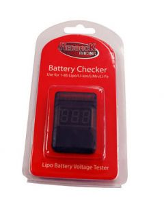 Redback BATTERY  CHECKER 1-8 CELL LIPO w/ALARM