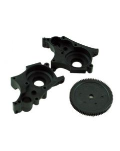 Redback XP015 Gearbox Housing with Spur Gear 77t (hbx 61052)