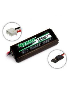 Reedy 27315 LiFe Pro 1600mAh 6.6V TX/RX Battery, flat