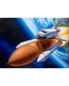 Revell 04736 Space Shuttle Discovery & Booster Rockets 1/144