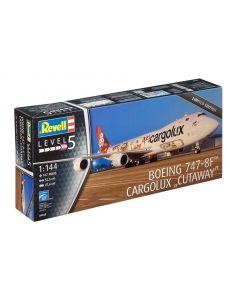 """Revell 04949 Boeing 747-8F Cargolux """"Cutaway"""" 1/144"""