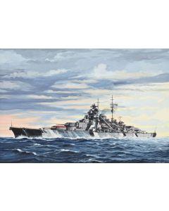 Revell 05098 Battleship Bismarck 1/700