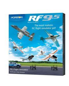 RealFlight RFL1201 9.5 Flight Simulator, Software Only