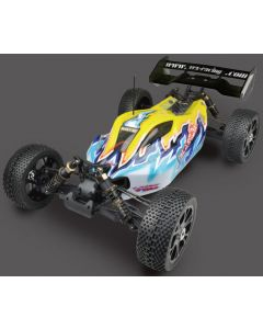 River Hobby Blast BX EP Brushless  Buggy RTR w/60A ESC/3650 Motor/11.1V 3250mAh Lipo/ 2.4GHz/ without charger 1/8