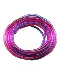 Robart 169 Red/ Purple Air Tubing 5 Feet Each Colour
