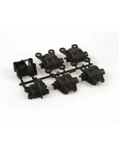 Robitronic 25001A Gear Box Plastic Set Front Rear Mantis, BR50