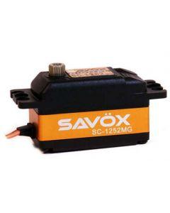 Savox SC-1252MG Low Profile Super Speed Metal Gear Digital Servo
