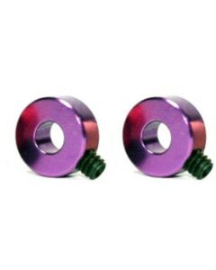 """Scaleauto SC-1124B Axle Stopper 3/32"""" (2.38mm) Anodized Alu. for AW/SW Gears M2"""