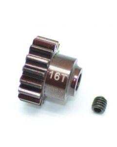 Serpent 600456 Pinion 16T M1, 5mm Shaft