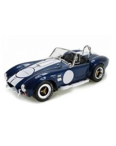 Shelby Collectibles SH121-1 Shelby Cobra 427 Blue w/White - No Signature 1/18