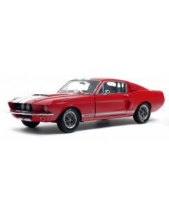 Solido 1802902 1967 Red w/White Stripes Shelby Mustang GT500 1/18