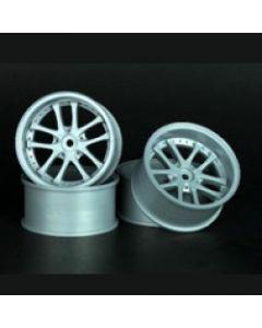 SPEEDLINE SL186S3 10-Spoke Wheel Offset 6 (4pcs/ Silver)1/10