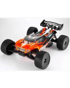 Hobao SSTES150RG Hyper SS Electric Truggy RTR Orange 1/8