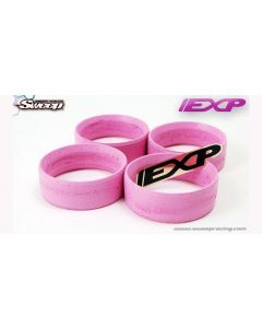 Sweep EXP-S Molded Tyre Insert PINK 4pcs Soft 1/10