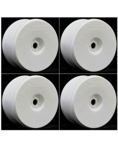 Sweep SWA-TW4 Truggy Dish Wheel 1/8 White 0 offset (4pcs)