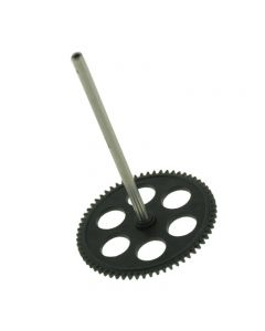 Twister T3D-A07  REPLACEMENT MAIN ROTOR GEAR AND SHAFT TWISTER MINI 3D