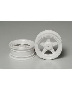 Tamiya 40109 GB-01 Front Wheels (2) 1/16