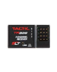 Tactic TACL0326 TR326 3-Channel SLT HV Receiver Only NERO