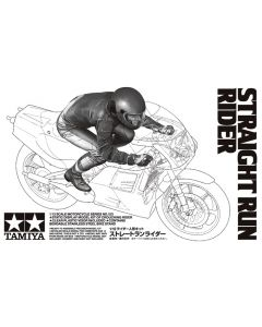 Tamiya 14123 Straight Run Rider 1/12