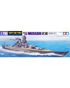 Tamiya 31114 Japanese Battleship Musashi 1/700