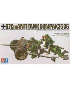 Tamiya 35035 Ger. 3.7cm Anti-Tank Gun (PAK35/36) 1/35