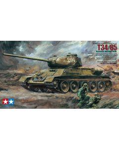 Tamiya 35138 T34-85 Russian Medium Tank 1/35