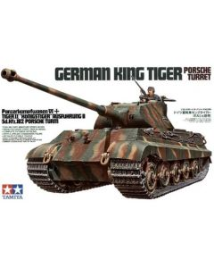 Tamiya 35169 German King Tiger Porsche Turret 1/35