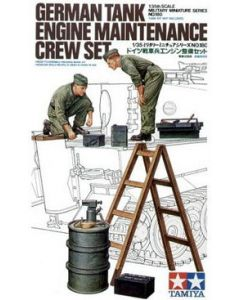 Tamiya 35180 German Tank Maintenance Crew 1/35