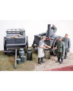 Tamiya 35247 German Field Kitchen Scenery 1/35