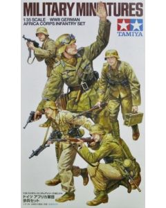 Tamiya 35314 WWII German Africa Corps Infantry Set 1/35