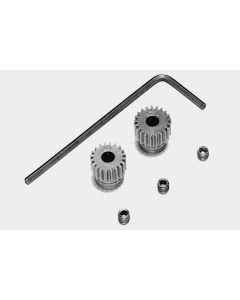 Tamiya 53101 RD 0.4 Steel Pinion Gear Set 20T/21T