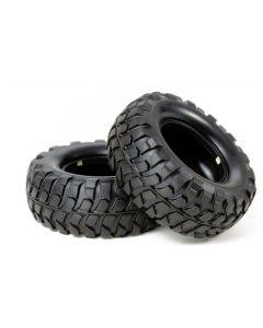 Tamiya 54598 Rock Block Tires - CC01 Soft/2pcs 1/10