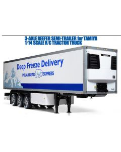 Tamiya 56319 3-Axle Reefer Semi-Trailer for 1/14 RC Tractor Truc