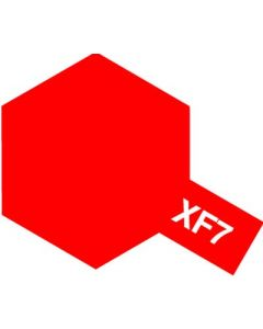 Tamiya 80307 Enamel XF-7 Flat Red - 10ml Bottle