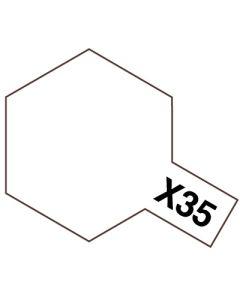 Tamiya 81535 Acrylic Mini X-35 Semi Gloss Clear - 10ml Bottle