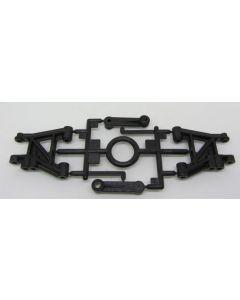 Tamiya 9000744 TA02  F Parts - Front Suspension Arms (2pcs)