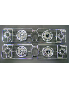 Tamiya 9335503 Wheels for 3-Axle Semi Trailer 1/14 (2pcs)