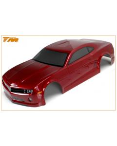 Team Magic 503323DRA 1/10 E4D Camaro Painted Body 195mm Dark Red