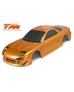 Team magic 503321GDA Gold Color Body,prepainted,trim 1/10 190mm