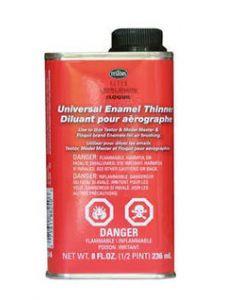 Testors 8824 Model Master Airbrush Enamel Thinner 8FL Oz (236ml)