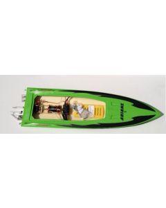TFL Ariane Electric Boat w/3674 Motor - Green