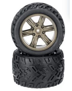 TornadoRC TRC-9116-ZJ01 1/12 Scale Tyres & Wheels