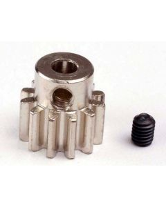 Traxxas 3942 Pinion Gear 12T (32-p) (mach. steel)/ set screw
